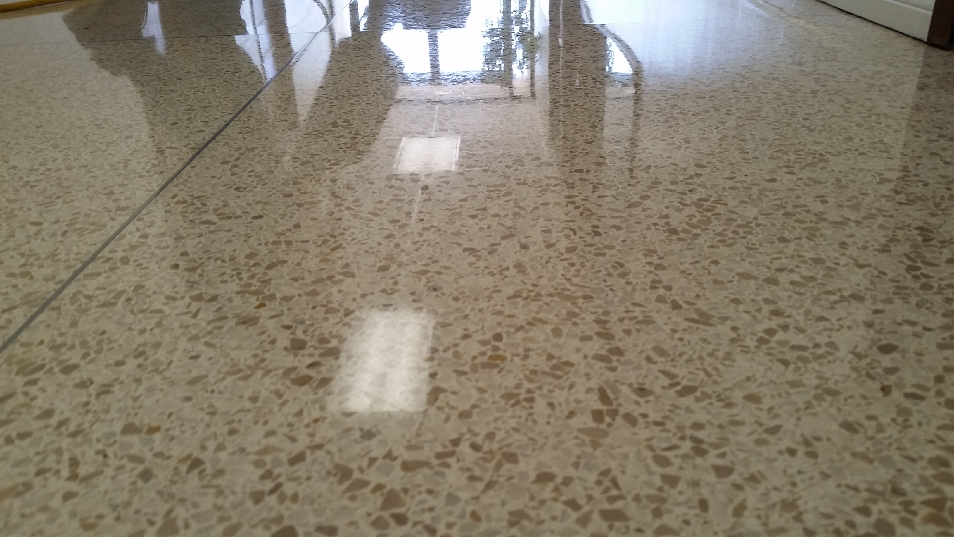 Terrazzo restoration on epoxy and concrete terrazzo for How to clean concrete dust from floors